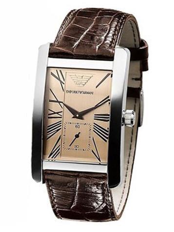 EMPORIO ARMANI Classic Watch Herrenuhr AR0154 – Bild 2