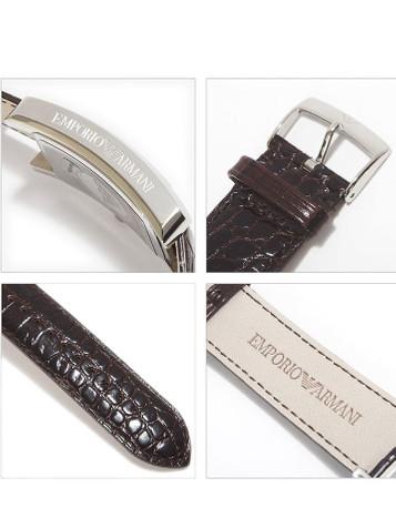 EMPORIO ARMANI Classic Watch Herrenuhr AR0154 – Bild 4