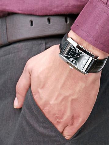 EMPORIO ARMANI Classic Watch Herrenuhr AR0143 – Bild 6