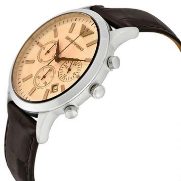 EMPORIO ARMANI Classic Watch Chronograph AR2433 – Bild 2