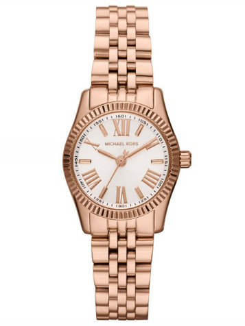 MICHAEL KORS Lexington Mini Rosé Damenuhr MK3230 – Bild 1