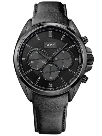 HUGO BOSS Driver Full Black Chronograph 1513061 – Bild 1