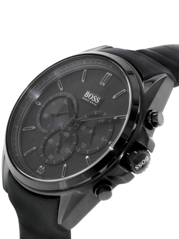 HUGO BOSS Driver Full Black Chronograph 1513061 – Bild 2