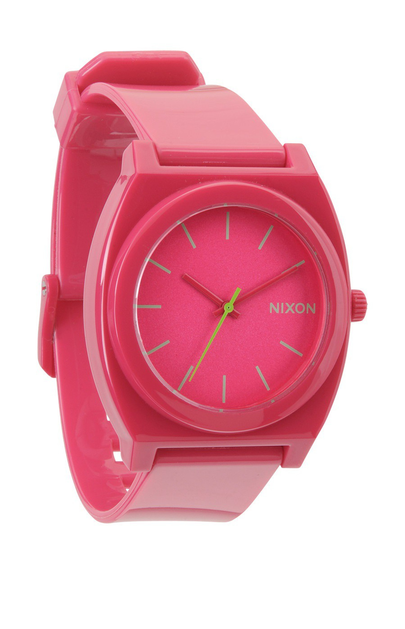 NIXON The Time Teller P Uhr Pink Rubine