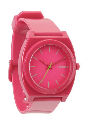 NIXON The Time Teller P Uhr Pink Rubine – Bild 1