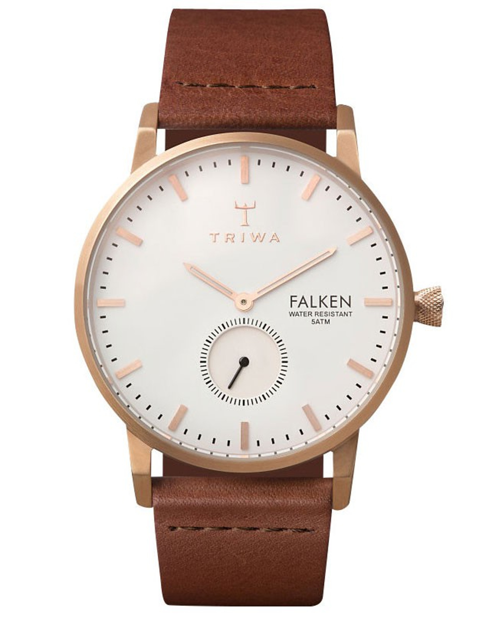 TRIWA Rosé Falken Quarzuhr FAST101-CL010214