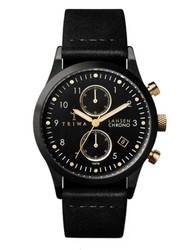 TRIWA Midnight Lansen Chrono LCST108-CL010113 001