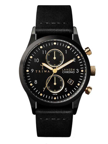 TRIWA Midnight Lansen Chrono LCST108-CL010113 – Bild 1