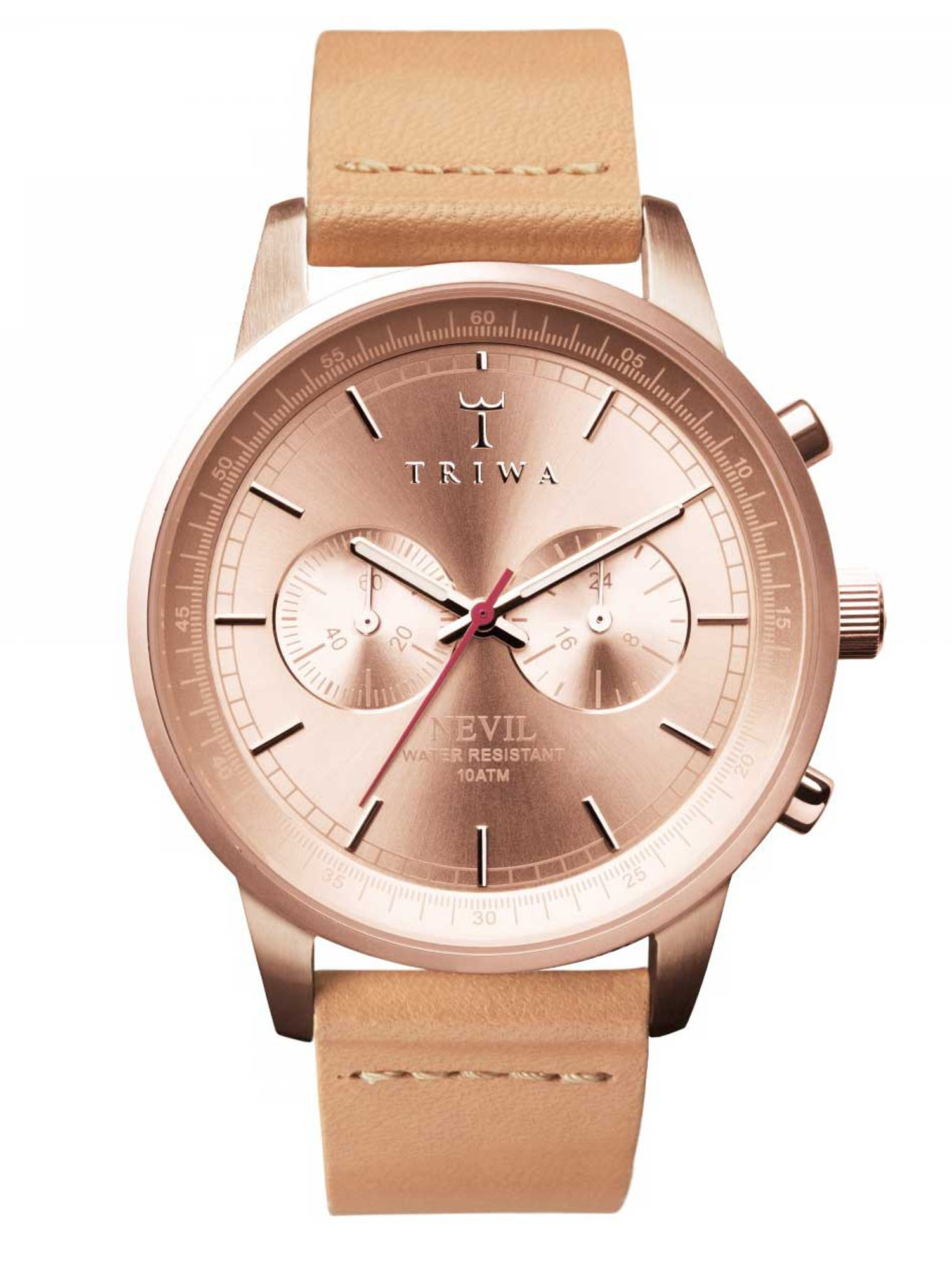 TRIWA Rosé Nevil Chronograph NEST105-CL011714