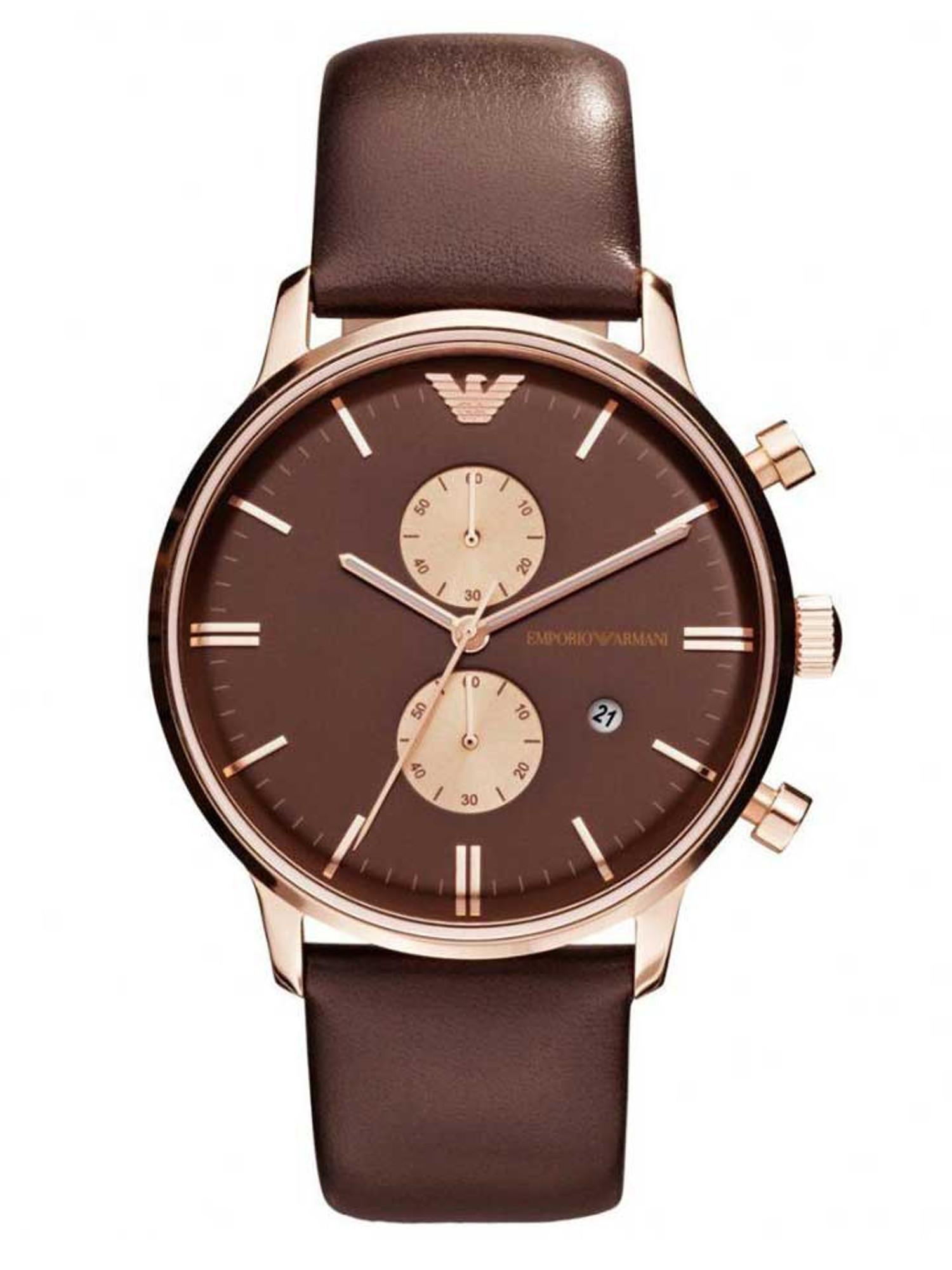 EMPORIO ARMANI Classic Watch Chronograph AR0387