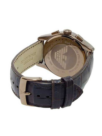 EMPORIO ARMANI Classic Watch Chronograph AR1609 – Bild 4