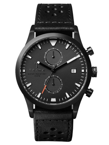 TRIWA Sort of Black Glow Chrono LCST112-CS010113 – Bild 1