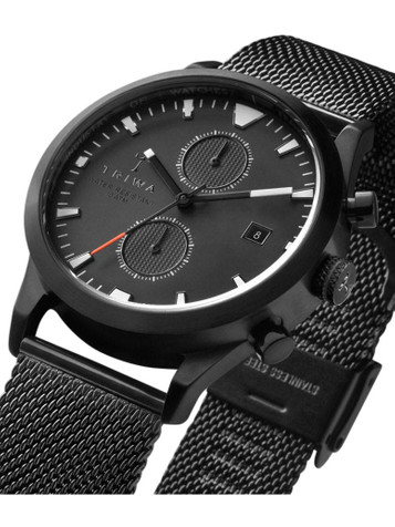 TRIWA Sort of Black Glow Chrono LCST112-CS010113 – Bild 4