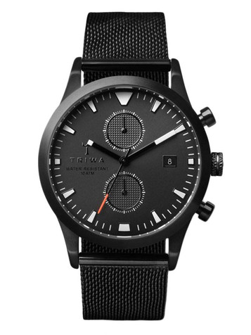 TRIWA Sort of Black Glow Chrono LCST112-CS010113 – Bild 3