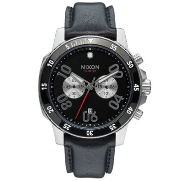 NIXON Ranger Chrono Leather Herrenuhr A940-000 – Bild 1