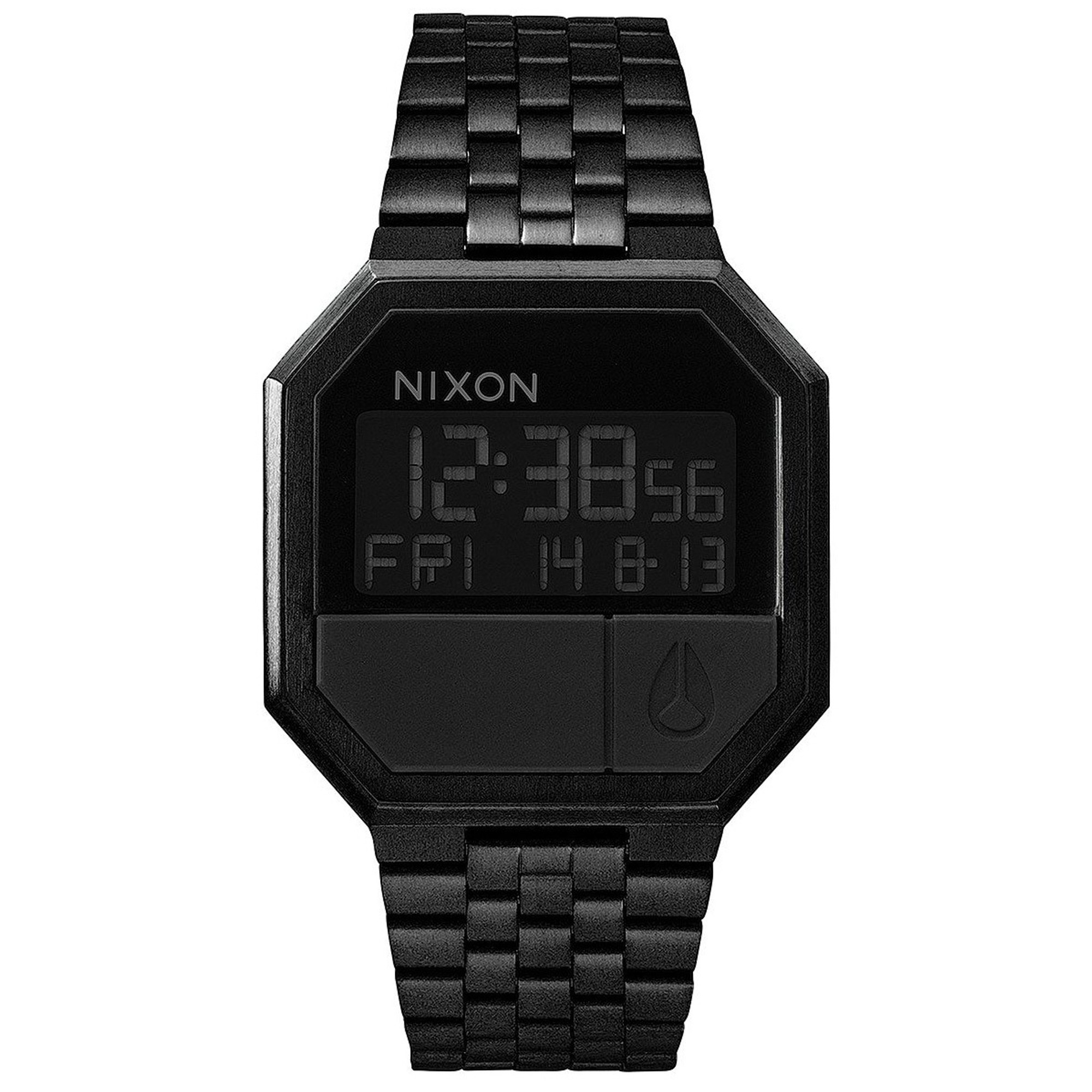 NIXON RE-RUN Quarz Digitaluhr A158-001-00