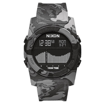 NIXON The Rythm Tide Quarz Digitaluhr A385-825 – Bild 1