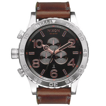 NIXON 51-30 Chrono Leather Quarzuhr A124-2064 – Bild 1