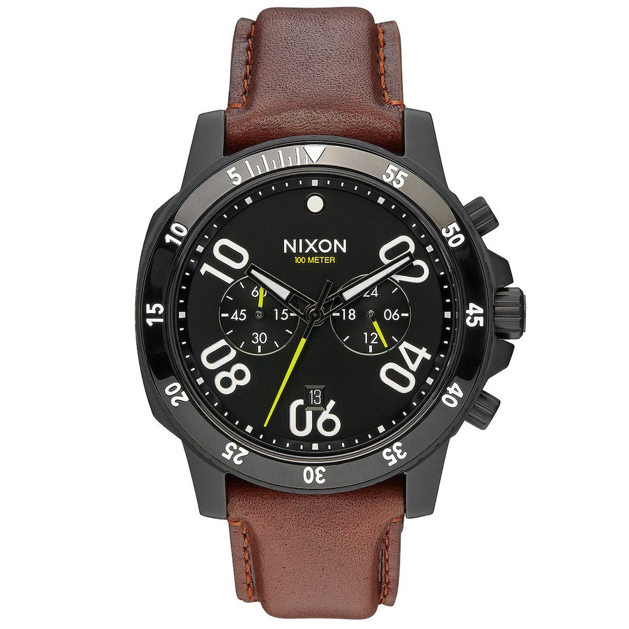 NIXON Ranger Chrono Leather Herrenuhr A940-712