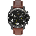 NIXON Ranger Chrono Leather Herrenuhr A940-712 001