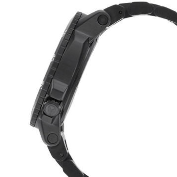 NIXON Ranger GMT All Black Quarzuhr A941-001 – Bild 3