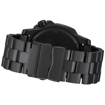 NIXON Ranger GMT All Black Quarzuhr A941-001 – Bild 4