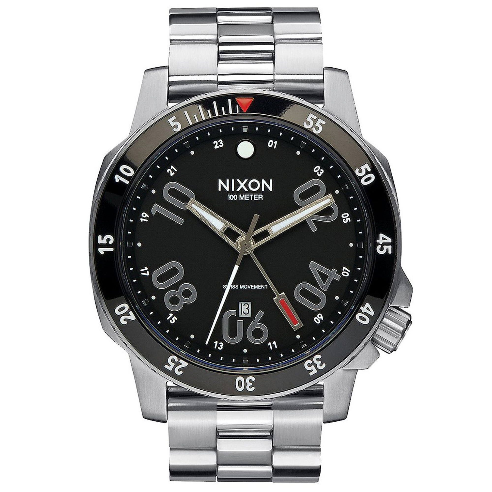 NIXON Ranger GMT Quarz Herrenuhr A941-000