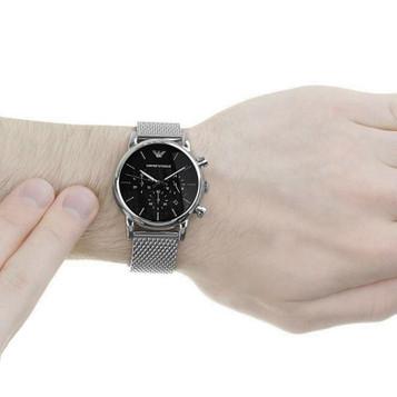 EMPORIO ARMANI Classic Watch Chronograph AR1811 – Bild 4