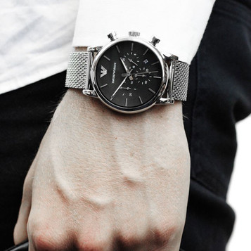 EMPORIO ARMANI Classic Watch Chronograph AR1811 – Bild 5
