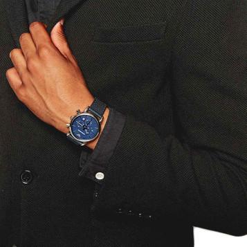 EMPORIO ARMANI Classic Watch Chronograph AR1736 – Bild 5