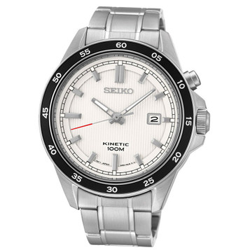 SEIKO Kinetic Quarz Herrenuhr SKA639P1 – Bild 1