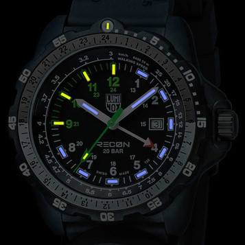 LUMINOX Recon NAV SPC GMT Quarzuhr 8831.KM – Bild 5