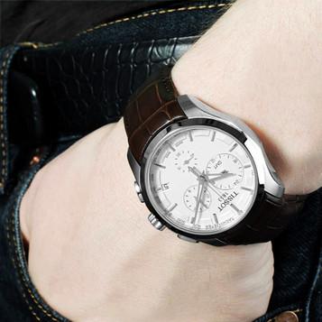TISSOT Couturier GMT Quarz Chronograph T035.439.16.031.00 – Bild 4