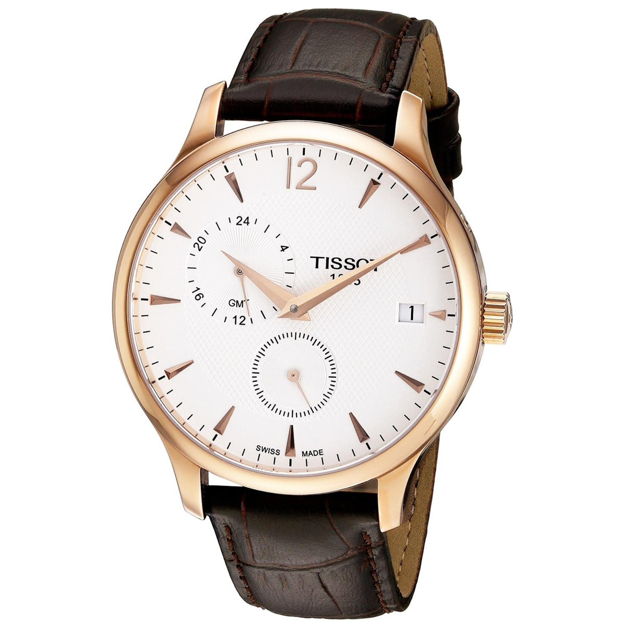 TISSOT Tradition GMT Quarzuhr T063.639.36.037.00