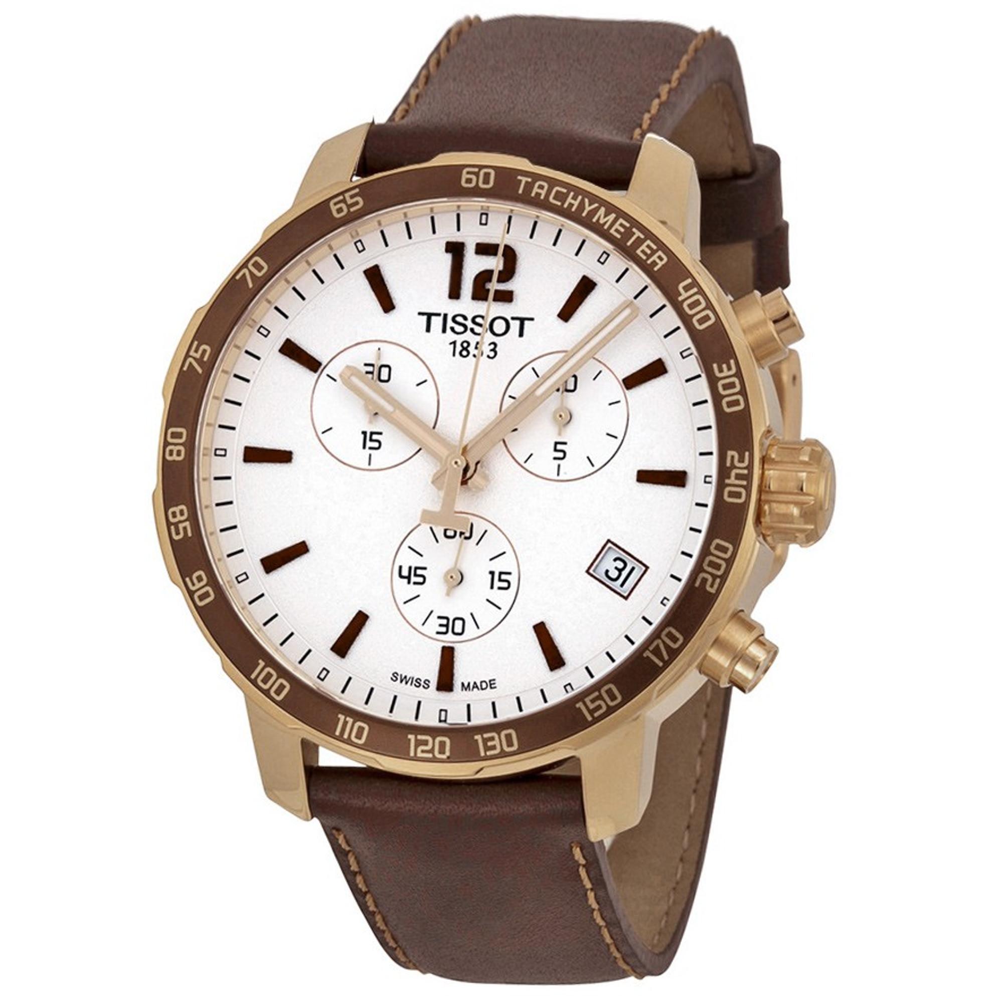 TISSOT Quikster Quarz Chronograph T095.417.36.037.02