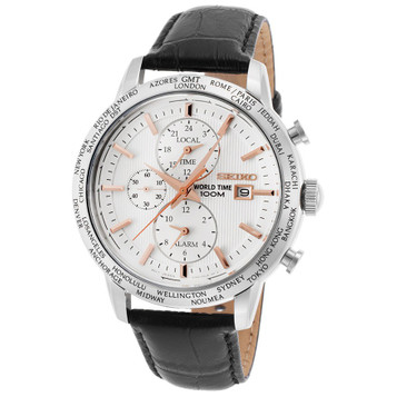 SEIKO World Time Alarm Chronograph SPL053P1