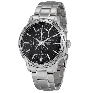 SEIKO World Time Alarm Chronograph SPL049P1 – Bild 1
