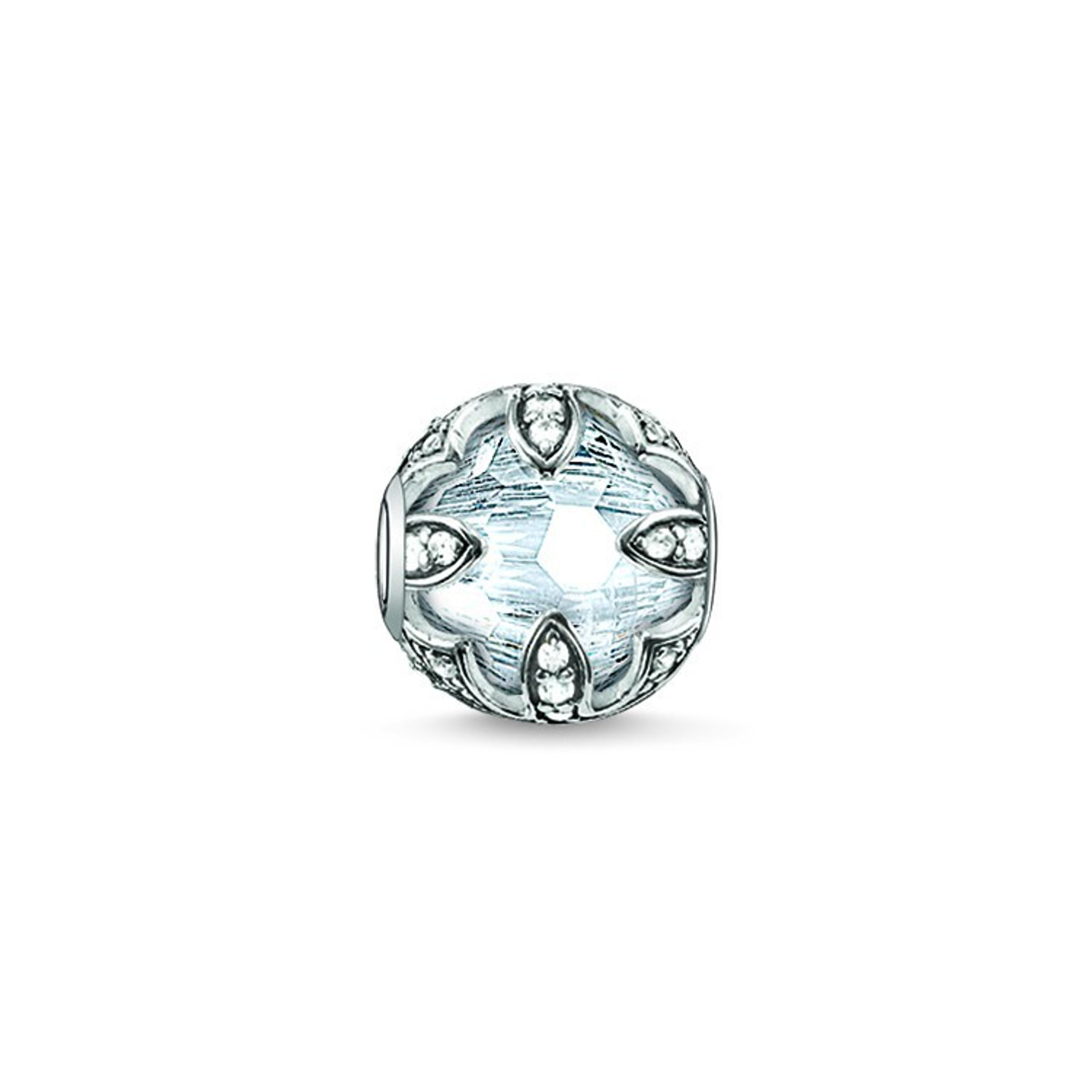 THOMAS SABO Bead Lotos weiß K0093-643-14