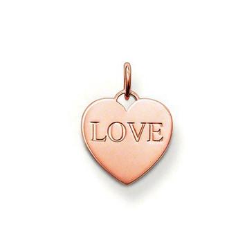 "THOMAS SABO Anhänger Herz ""Love"" PE436-415-12"