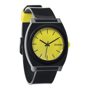 NIXON  The Time Teller Black / Lime A119 985