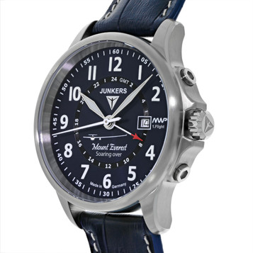 JUNKERS Mountain Wave Project GMT Quarzuhr 6844-3 – Bild 2
