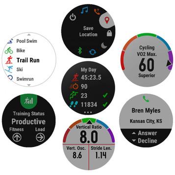 GARMIN fēnix® 5 Saphir GPS Multisport Smartwatch 010-01688-11 – Bild 6