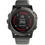GARMIN fēnix® 5X Saphir GPS Multisport Smartwatch 010-01733-03