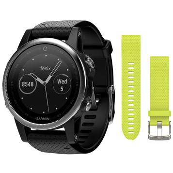 GARMIN fenix® 5S Saphir GPS Multisport Smartwatch 010-01685-11 – Bild 5