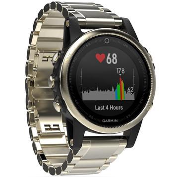 GARMIN fenix® 5S Saphir GPS Multisport Smartwatch 010-01685-15 – Bild 6