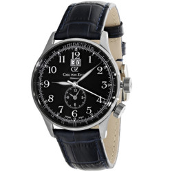 Carl von Zeyten Etterlin Dual Time Quarzuhr CVZ0006BK 001