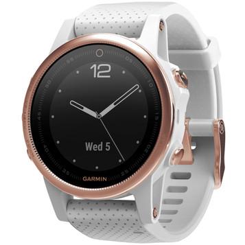 GARMIN fenix® 5S Rosé Saphir GPS Multisport Smartwatch 010-01685-17 – Bild 2
