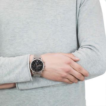 EMPORIO ARMANI Classic Watch Chronograph AR1808 – Bild 5