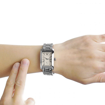 EMPORIO ARMANI Classic Watch Damenuhr AR0176 – Bild 5