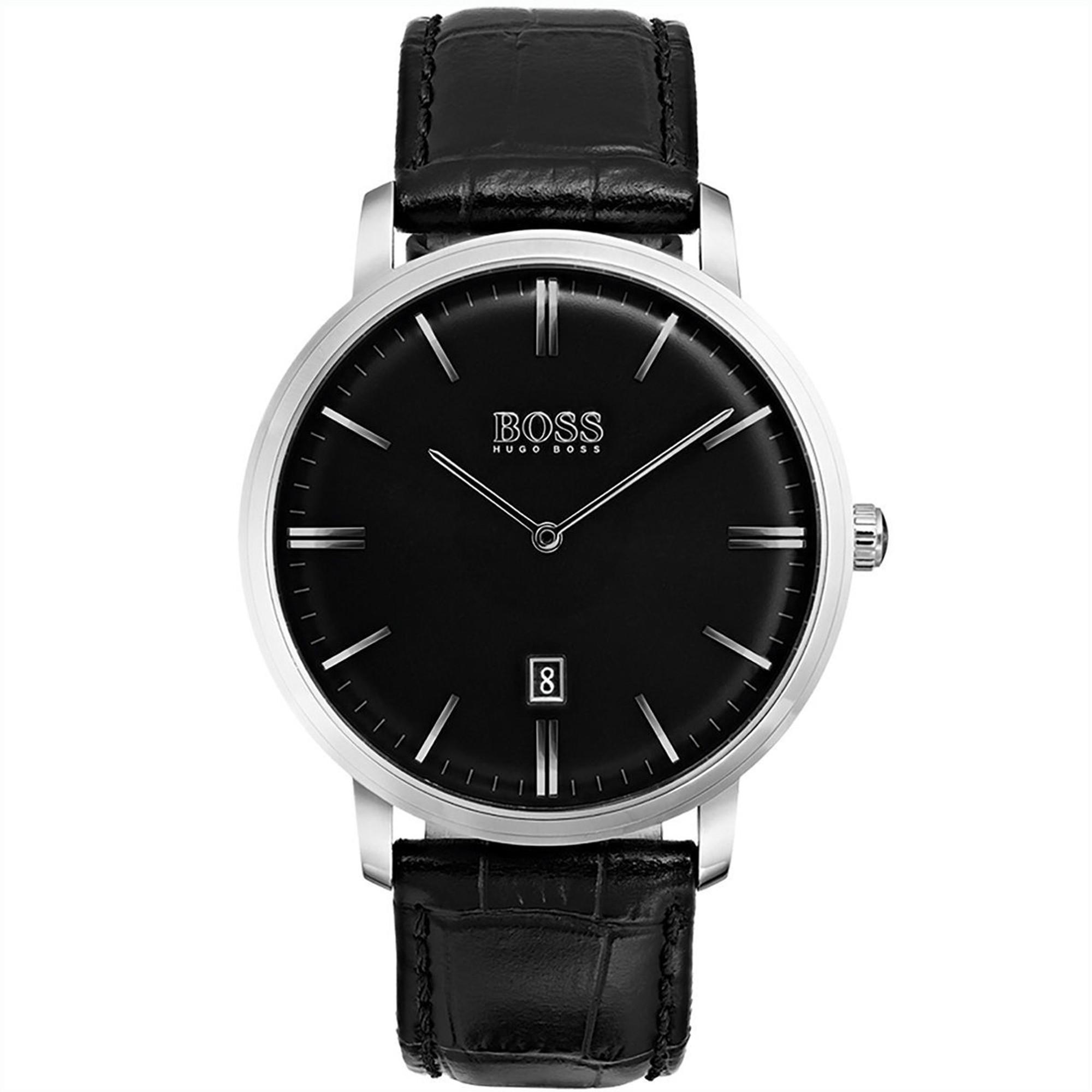 HUGO BOSS Tradition Classic Quarz Armbanduhr 1513460